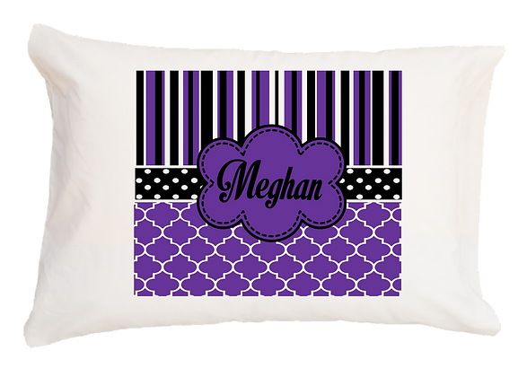 Meghan Purple & Black