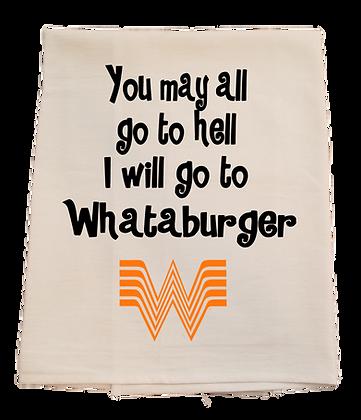 Whataburger Tea Towel