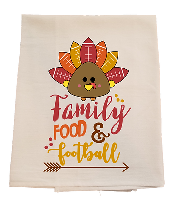 Family, Food, and Football - Thanksgiving