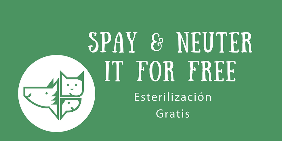 Spay & Neuter It For Free (SNIFF)