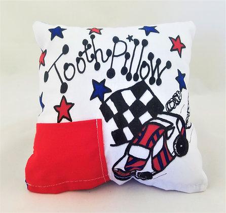 Racecar Tooth Pillow