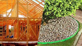 Коттеджное и дачное строительство, ландш