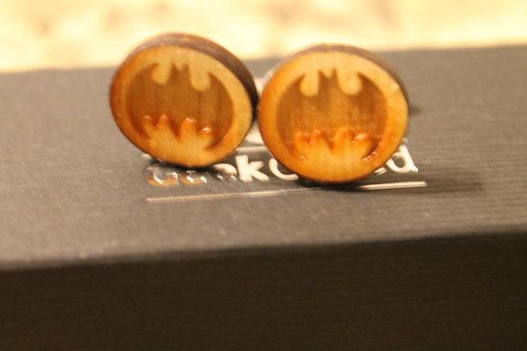 Laser Cut Comic Cufflinks - Batman