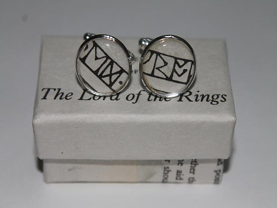 Lord of the Rings (Recycled Literature) Cufflinks