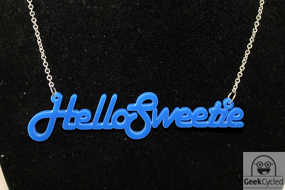 Hello Sweetie (Dr Who) Necklaces