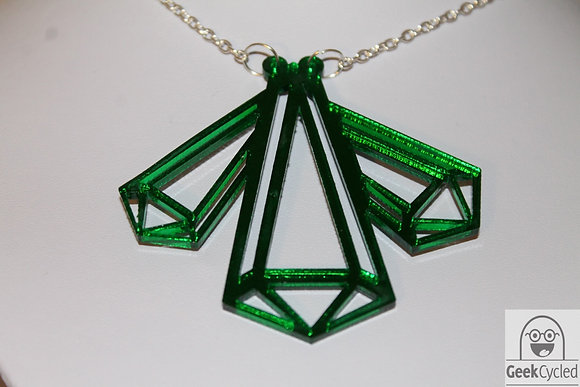 Kryptonite necklace