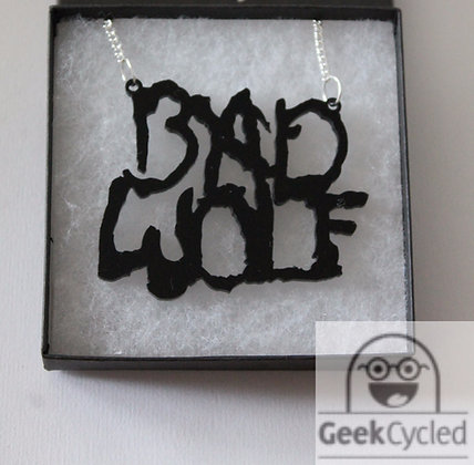 Bad Wolf (Dr Who) Necklaces