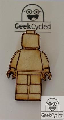 Building Block/Lego Inspired badges