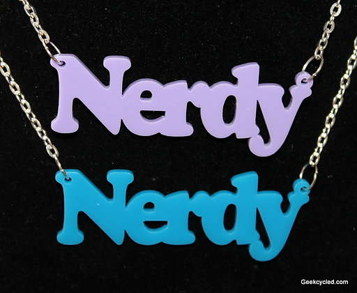 Geeky Words Necklace