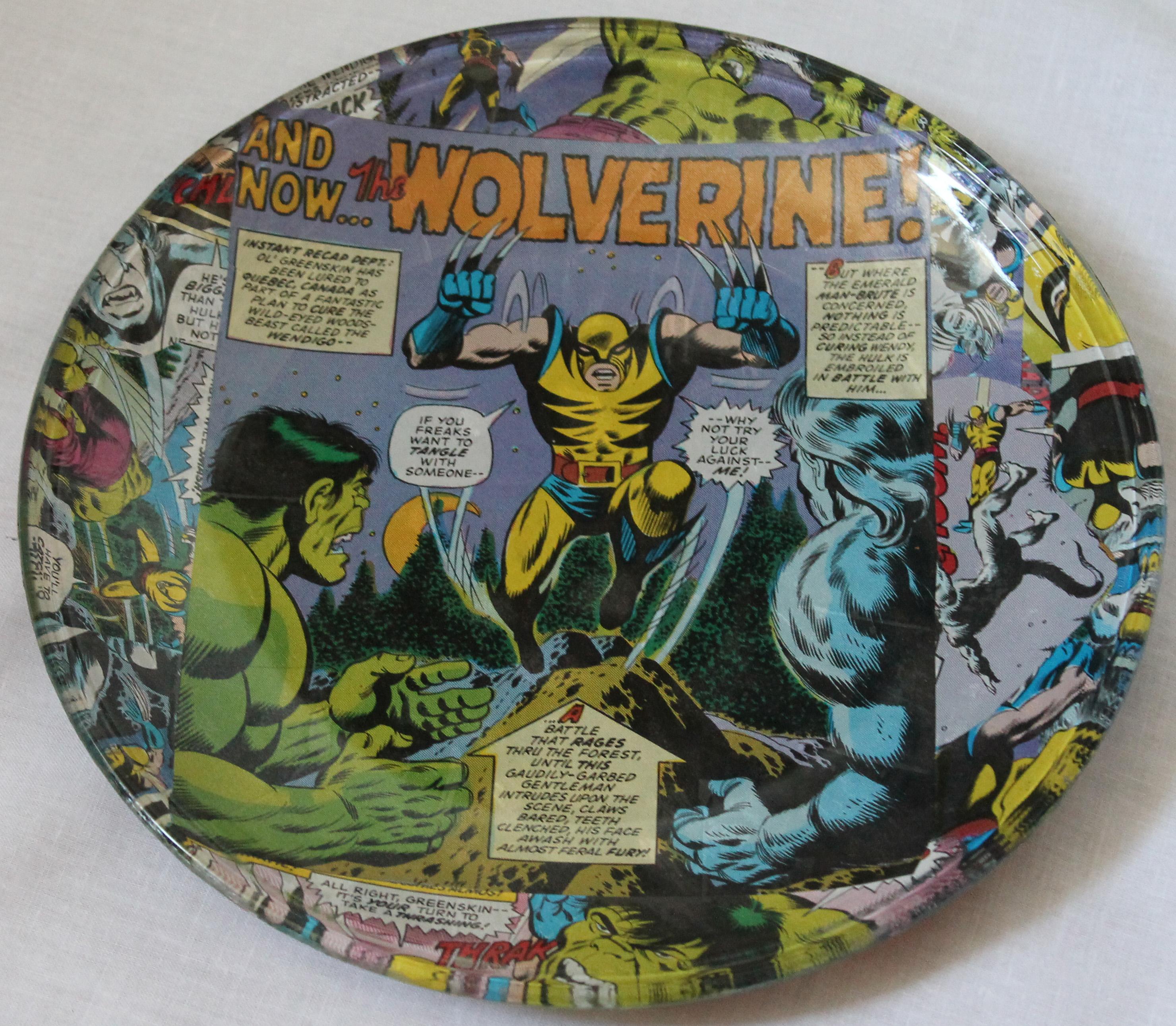 decoupage comic book plate.jpg