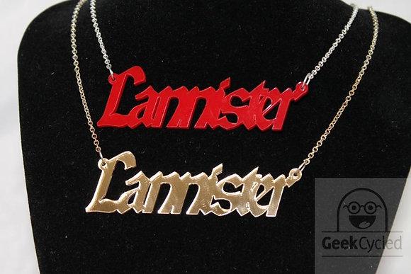 Lannister necklaces