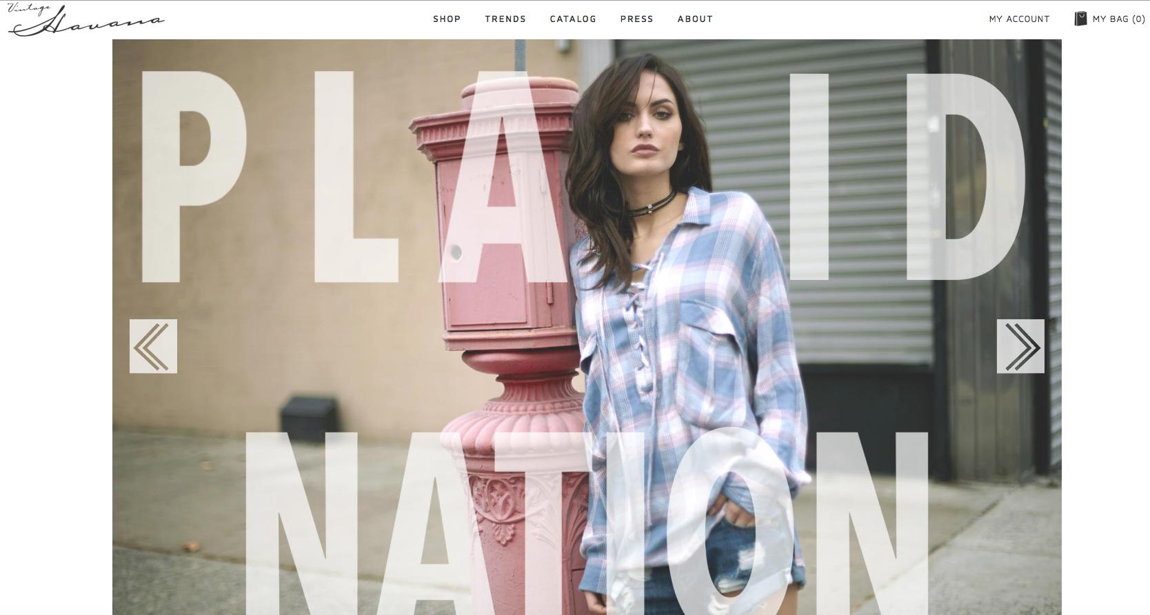 Vintage Havana- Website Text