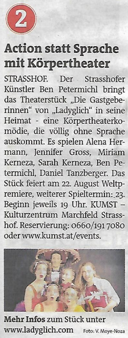 Bezirksblätter Gänserndorf, August 2020_