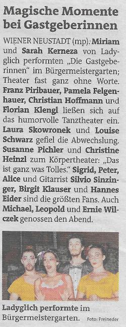 Bezirksblatt WN_Oktober 2020