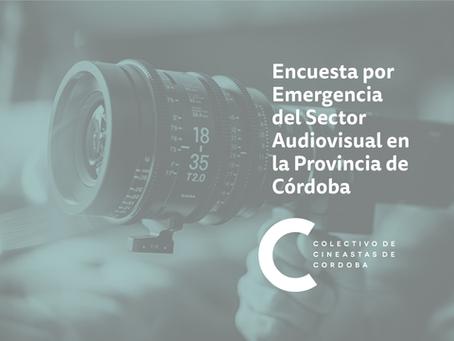 Encuesta por Emergencia del Sector Audiovisual en la Provincia de Córdoba