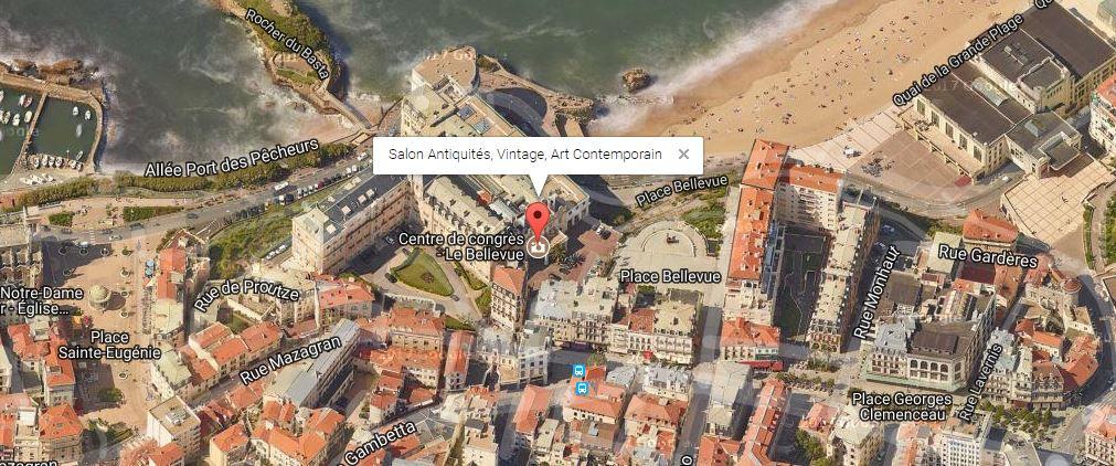 Salon Antiquaires Vintage Art Contemporain de Biarritz