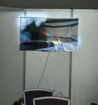 Cloison de renfort pour fixer un écran TV