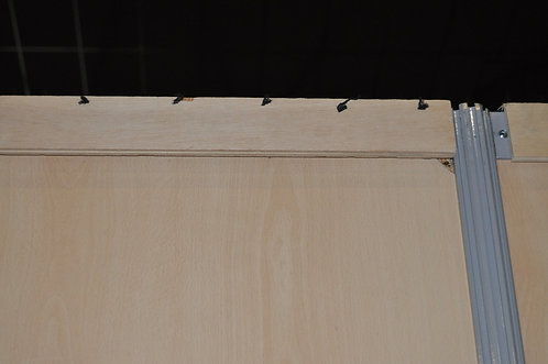 Plaquette bois support pour coton mural à agrafer (à l'unité)