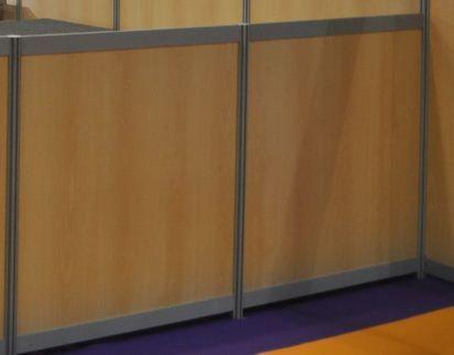 Cloison modulaire supplémentaire hauteur 1,10m