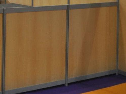 Cloison modulaire hauteur 1,10m