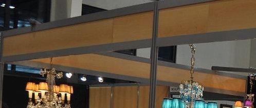 Bandeau de façade en bois mélaminé (le mètre linéaire)