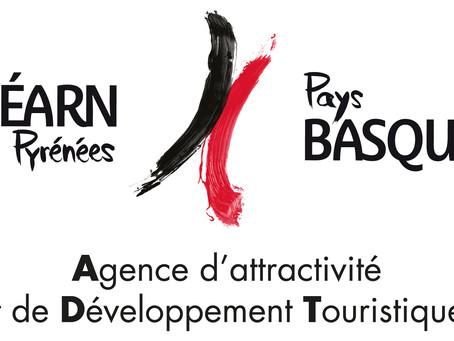 Agence d'attractivité et de Développement Touristiques Béarn Pays basque présent au salon HOPA !