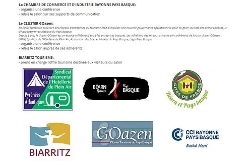 Votre logo sur la page partenaires avec lien