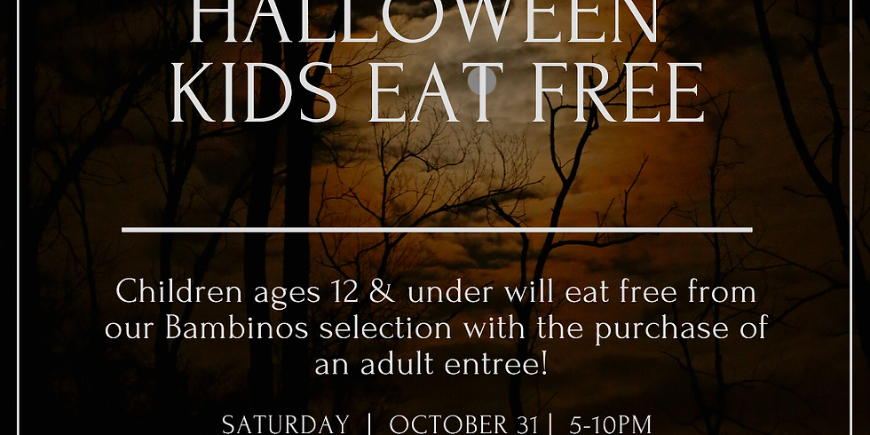 Kids Eat Free Halloween!