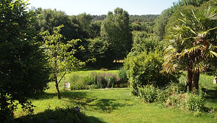 La Halte de Coat Carrec | Le jardin | Chabres d'hôtes presqu'ile de Crozon