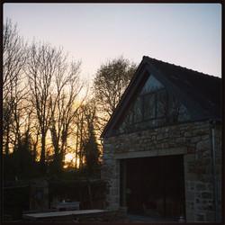 Couher de soleil à Coat Carrec