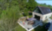 La Halte de Coat Carrec | Vue du ciel | Drone