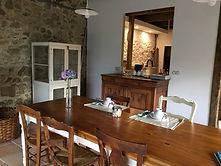 La Halte de Coat Carrec | Salle à manger | Table d'hôtes