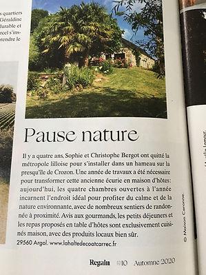Magazine Regain #10 Automne2020