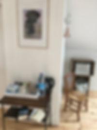 La Hale de Coat Carrec | plateau d'accueil : eau, café, thé, gourmandise
