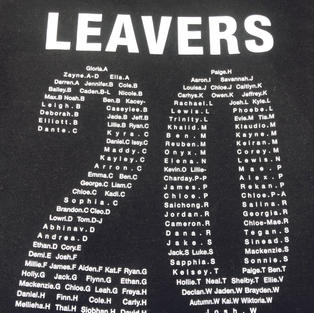 Leavers 20