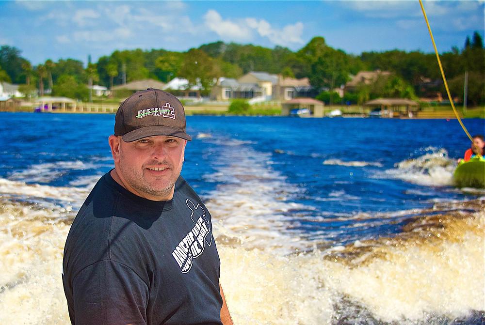 Wakesurf Orlando with Above the Wake founder Tom Hart coaching Zup Boarding