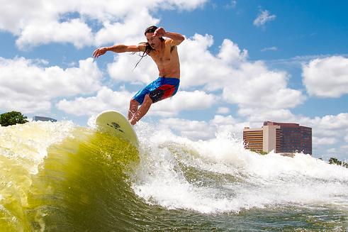 Wakesurf Orlando Wakesurfing Floater on Hobie