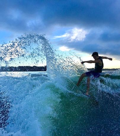 Wakesurf Orlando Team Rider Parker Payne on the Phase 5 Matrix