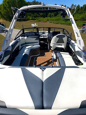 How to Clean White Boat Interior    And Exterior