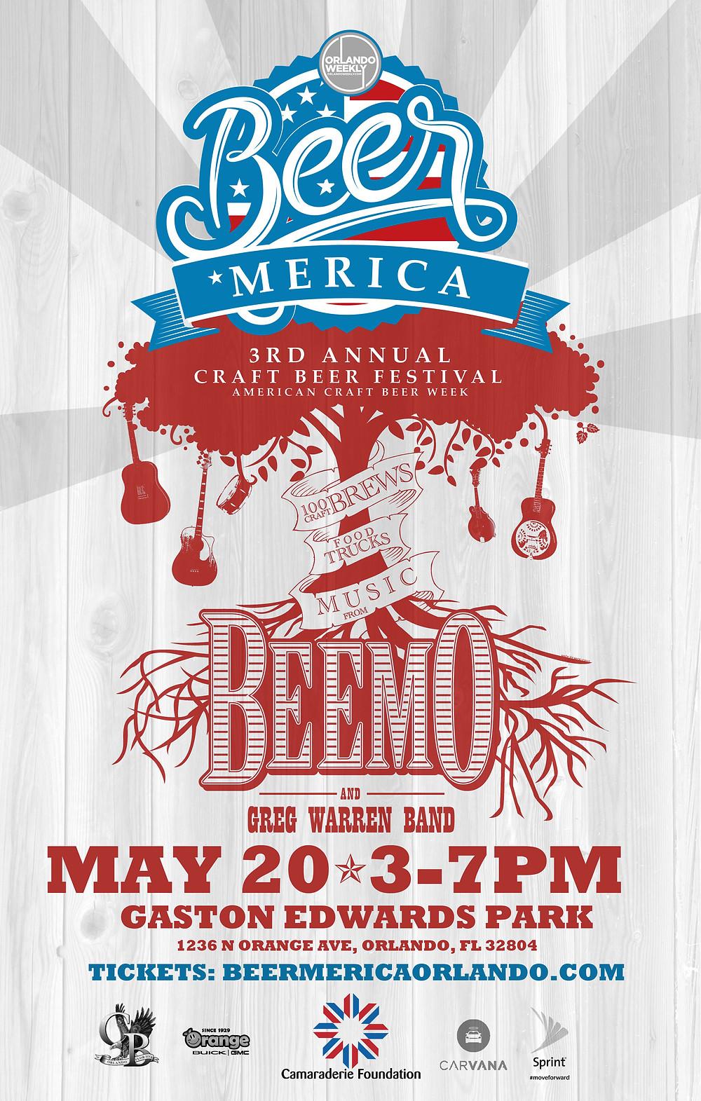 Beer 'Merica Wakeboard and Wakesurf Demo with Wakesurf Orlando