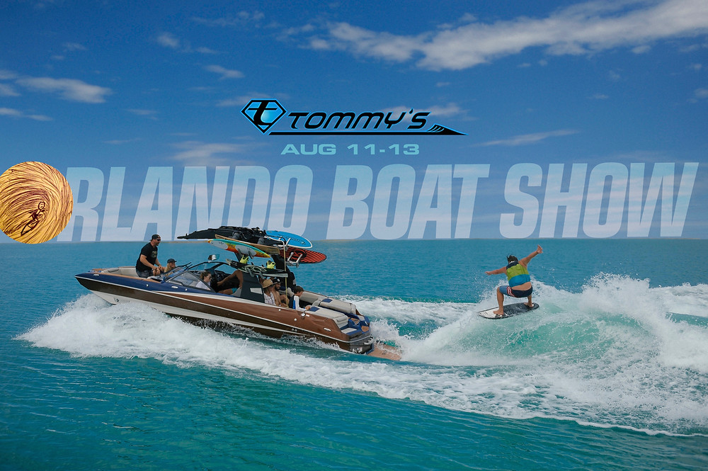 Wakesurf Orlando will be at the 2017 Orlando Boat Show with Tommy's Malibu