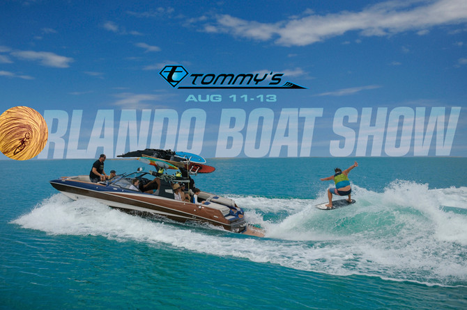 Join Wakesurf Orlando at the 2017 Orlando Boat Show