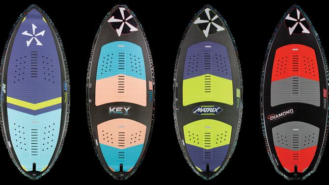 Phase 5 Wakesurf Board Comparison | Matrix vs MVP vs Key vs Diamond Turbo