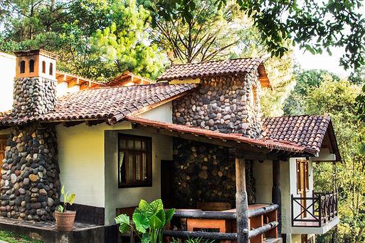 Cabaña Chalet La Rosa Mazmaitla en el Bosque
