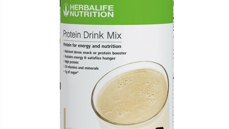 Protein Drink Mix : Vanilla