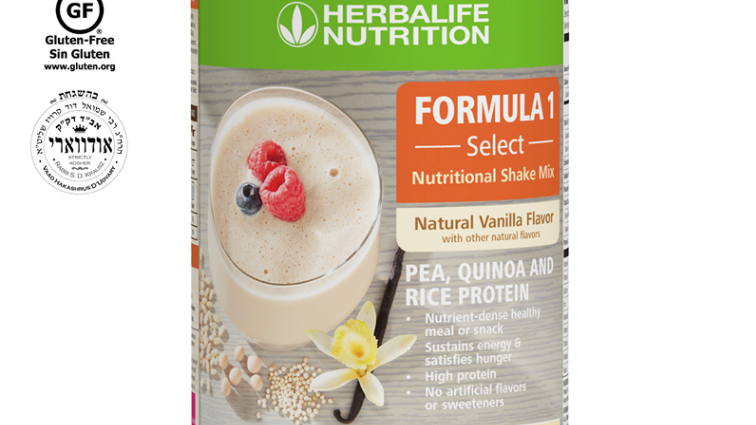 Formula 1 Select: Natural Vanilla Flavor