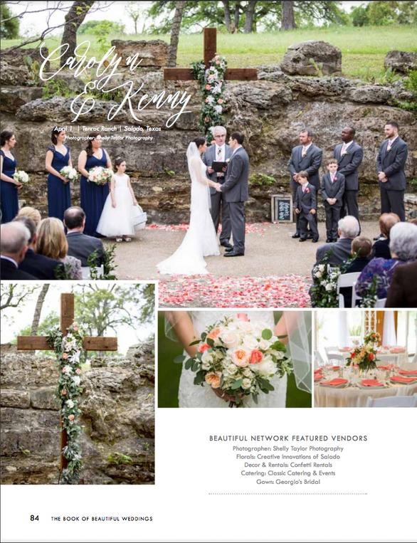Real Wedding Wednesday: Carolyn & Kenny