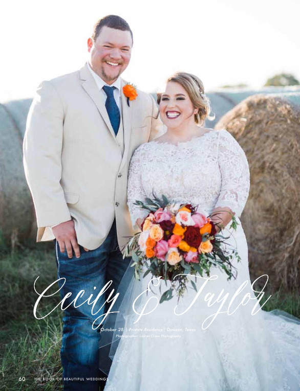 REAL WEDDING WEDNESDAY: Cecily & Taylor