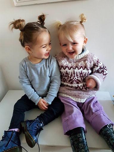 Girls laughing Real Nannies