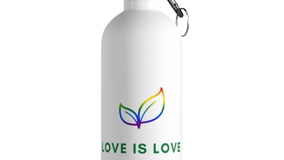 Love is Love - Stainless Steel Water Bottle